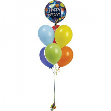 Helium balloons Lanzarote & Chocolate Bouquets