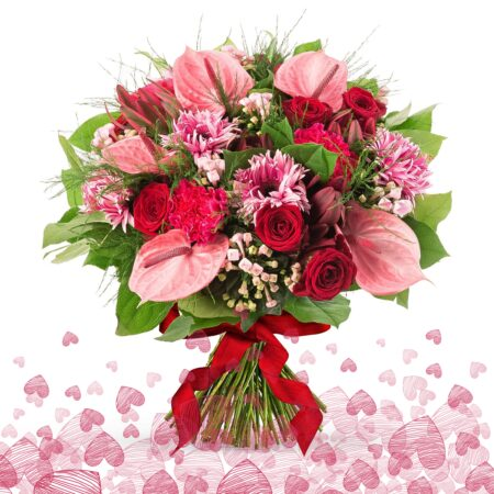 Valentines Flowers delivered in Lanzarote