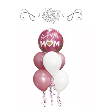 Mothers day balloons & sweets