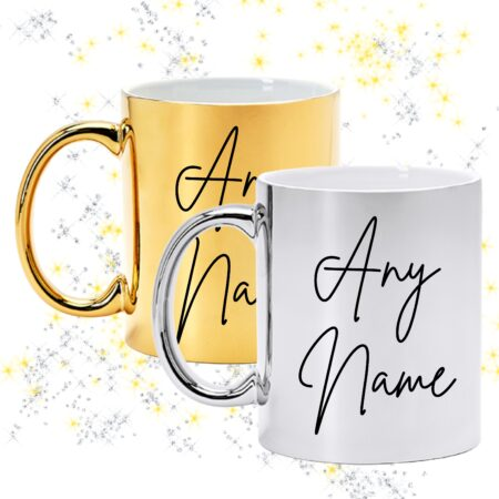 Gold and Silver mugs